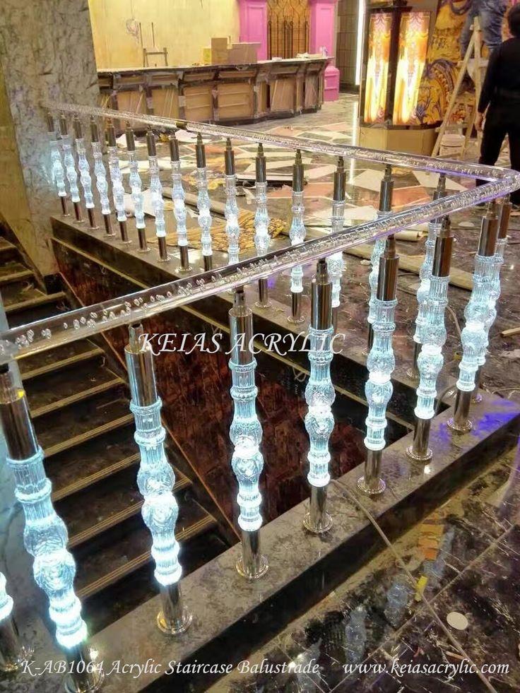 Acrylic Handrail and Balustrade