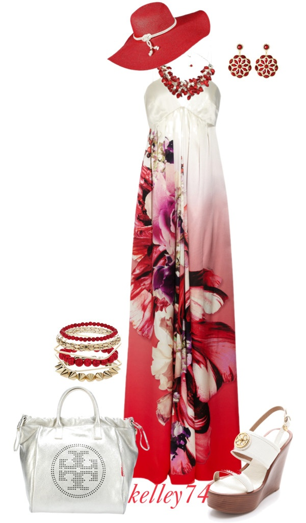 """Radiant in Red"" by kelley74 on Polyvore"