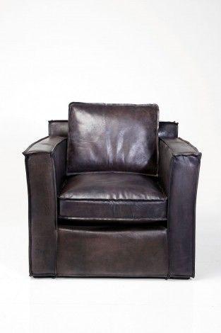 KARE Prague - Arm Chair Cube Big Buffalo Brown