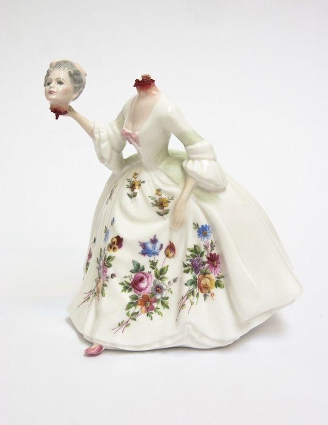 Porcelana victoriana gore de Jessica Harrison 3.