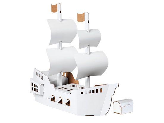 Bygg & Måla 'Piratskepp'