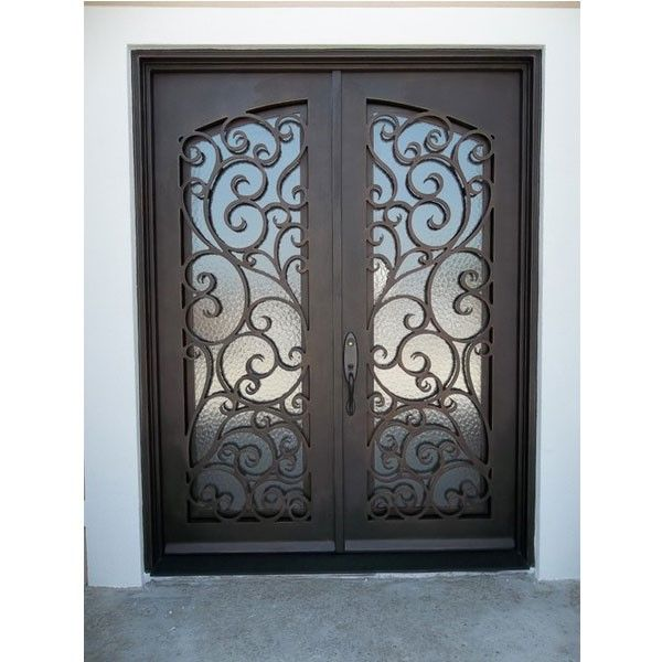 9 Best Wrought Iron Doors Images On Pinterest Entrance Doors