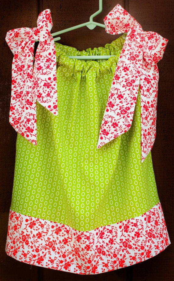 Pillowcase Dress and Girl s Summer Top Mod by TheCraftyMommaShop, The Crafty Momma Shop on ...
