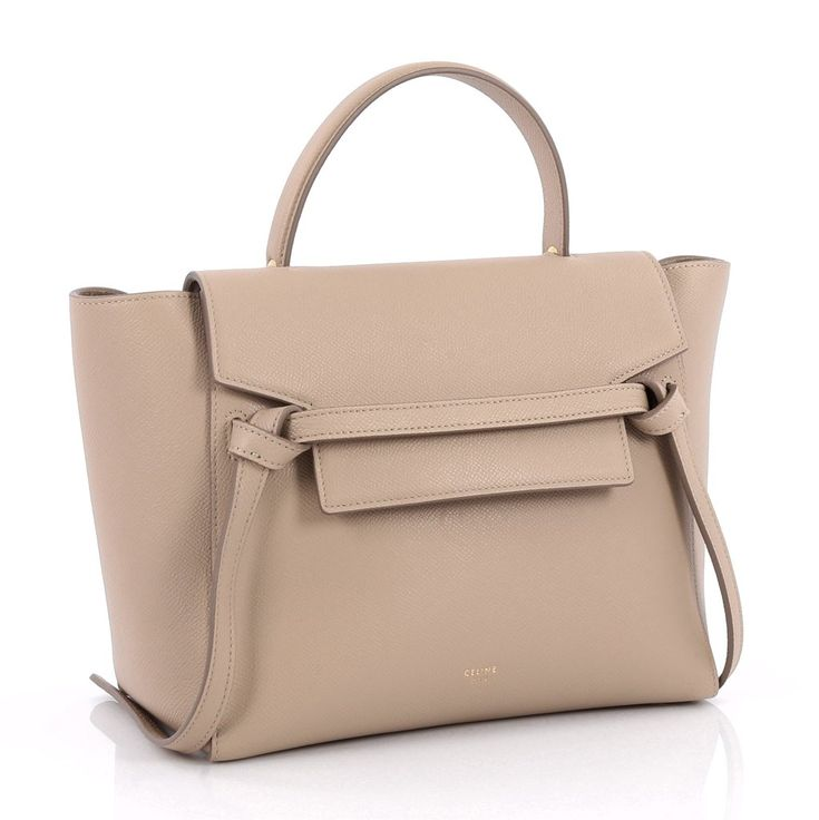 Online Sale - Authentic Neutral Celine Belt Bag Grainy Leather Micro at Trendlee.com. Guaranteed genuine! Financing available. 2198202