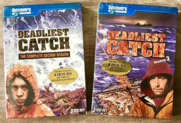 Deadliest Catch DVD Set (Season 2 and Season 3) TV Series  | eBay