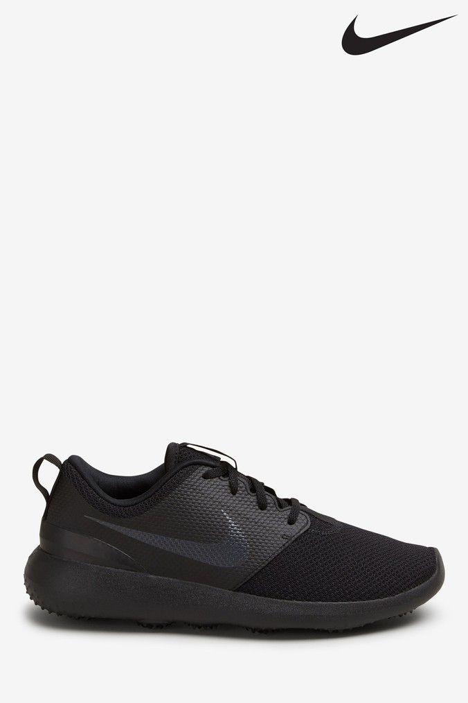Mens Nike Roshe G Golf Shoes Black Golf Shoes Nike Roshe Nike Men
