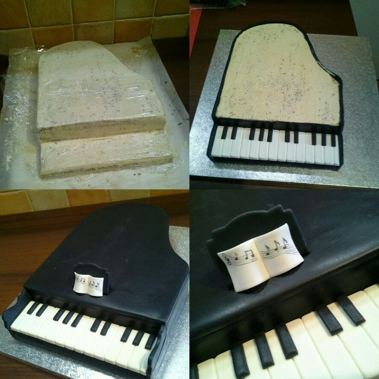Cake Design Un Piano : 25+ best ideas about Piano Cakes on Pinterest Music ...