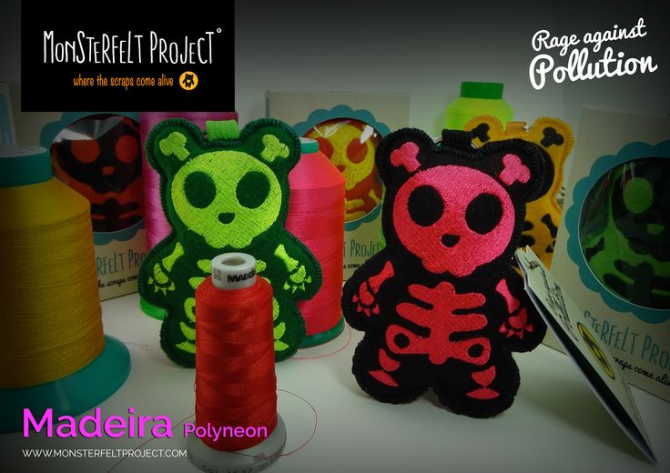 Rage against Pollution - Monsterfelt Project  Madeira PolyNeon 40