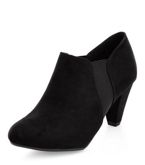 Teens Black Chelsea Shoe Boots   New Look
