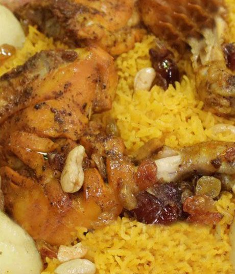 Balochi Rice with Chicken tikka in urdu and english