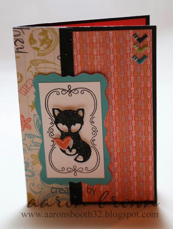Booth #32: Artfully Sent Cricut Cartridge Fox Cards