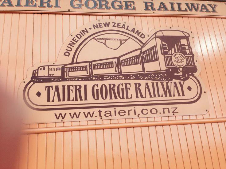 The train ride. Rail Trail  NZ