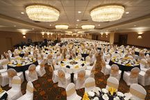 Great wedding space at the Coast Plaza Hotel - Calgary