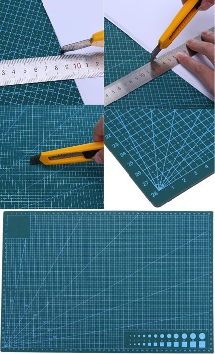A3 Schneidematte PVC Double Side selbstheilende rutschfeste DIY Schneidebrett Projekte Stoff Leder …
