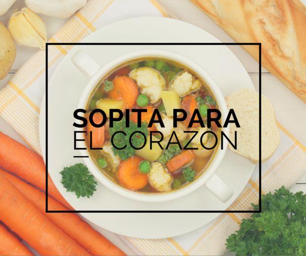 14 Sopas calientitas y mexicanas para cuando hace frío todo el tiempo