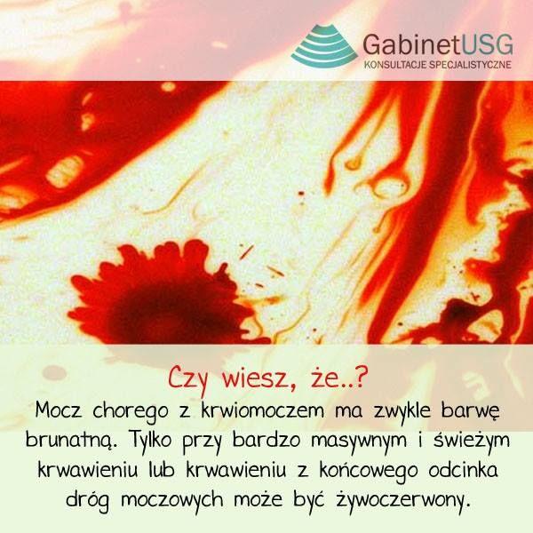 W przypadku #krwiomoczu bezwzględnie należy wykonać #USG układu moczowego. Nasza cena 80 zł➡ http://www.gabinetusg.com.pl/