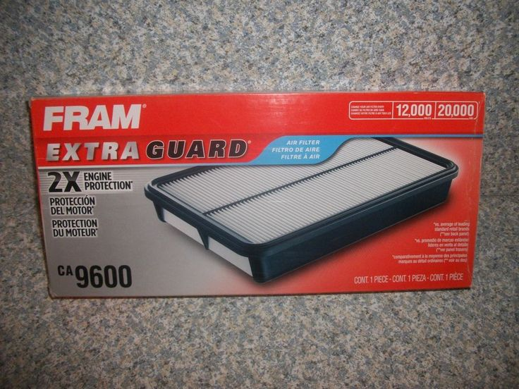 Fram Extra Guard Rigid Panel CA9600 Air Filter NIB - FAST + FREE US SHIPPING! #Fram