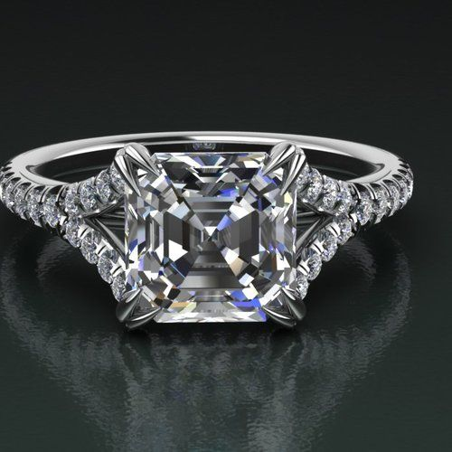 Jupiter jewelry custom made diamond engagement ring for What is platinum jewelry made of
