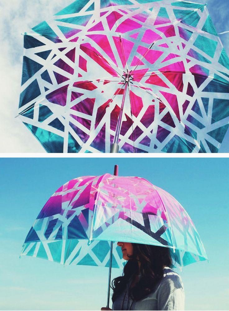 DIY Ombrella #accessories #umbrella