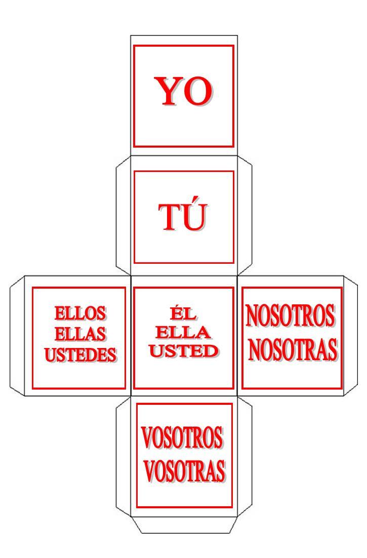 Espanhol: de professor para professor: Atividade: presente de indicativo - ações cotidianas - verbos irregulares I
