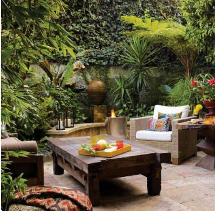 Pinterest Design, Balcony Gardening, Secret Gardens, Garden Design, Bali,  Jamie Durie, Hgtv, Architects, Brickwork - 58 Best Bali Inspired Decor Images On Pinterest Decks, Landscaping