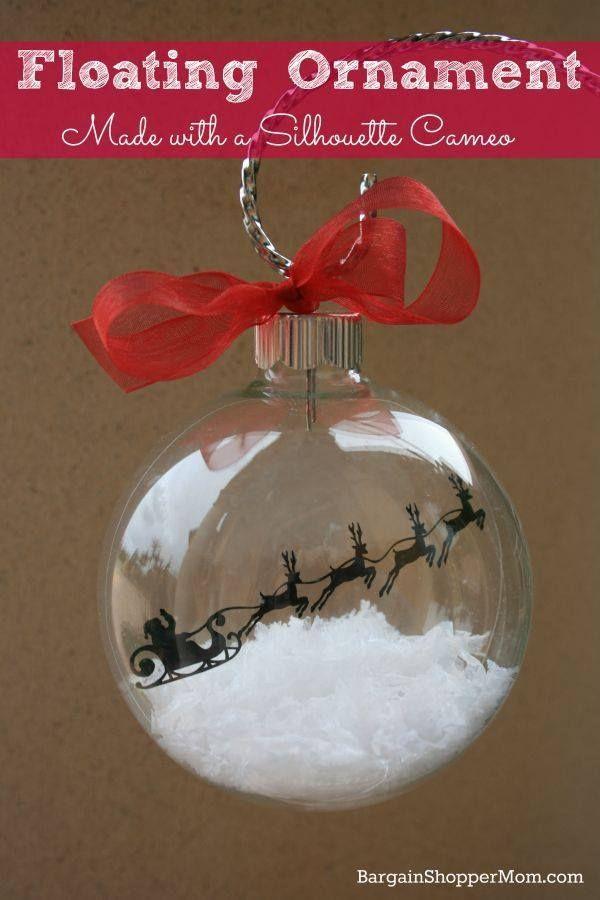 Christmas Clear Ornament