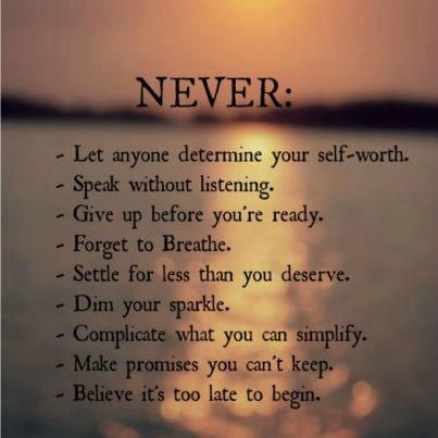 Never net anyone determine your self-worthQuote Gallery   Quote Gallery