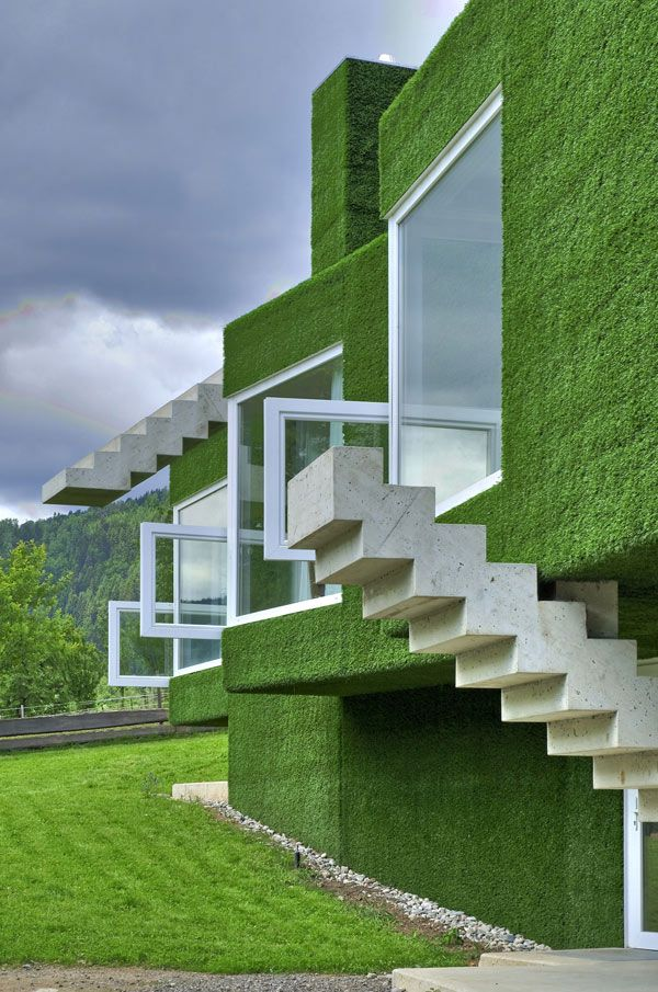 Grass Covered Home- / Weichlbauer Ortis Architects