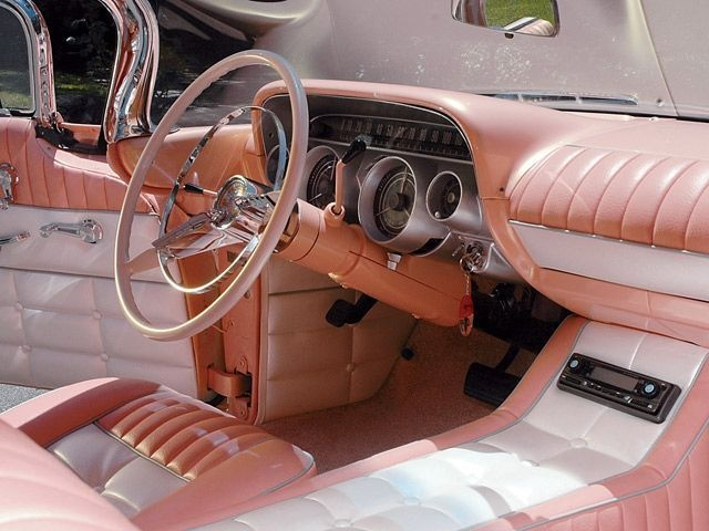 1959 Buick Invicta dash. Styling to be from 59. Has to be a custom interior. They did not do this stuff back then to cars from the factory.