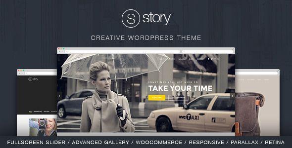 Story, es una Web plantilla de WordPress de usos múltiples que se puede utilizar para cualquier tipo de página web, como una cartera creativa, fotografía, productos, sitios corporativos y de negocios.  http://ivanfiestas.com/tienda/plantillas-web-wordpress/story-plantilla-responsive-multiproposito