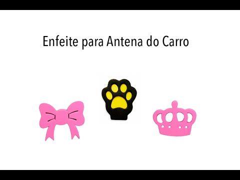 Enfeite para Antena Patinha, Lacinho e Coroa da Princesa