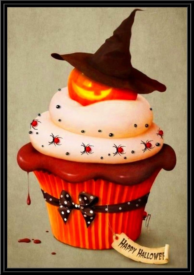 124 best Cake halloween images on Pinterest Halloween cakes, Conch - cupcake decorating for halloween
