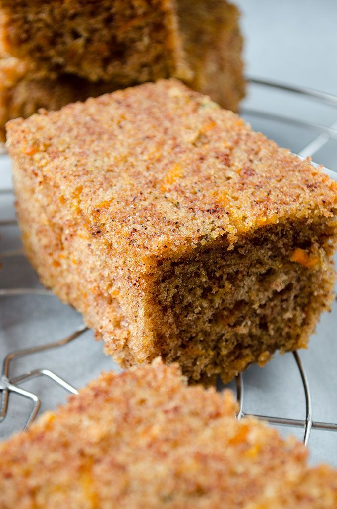 Carrot Cake Bars taste so darn good that you don't even need frosting. No butter and no sugar in the recipe. These are definitely healthy too!   giverecipe.com   #carrot #bars