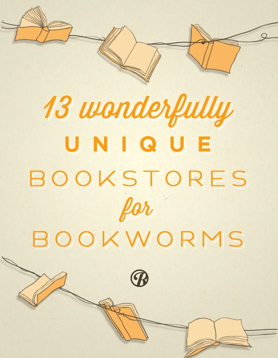 A few of America's best bookstores...