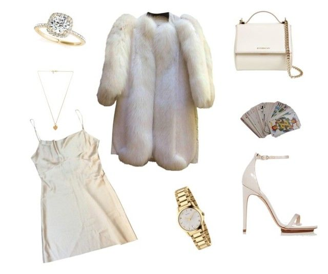 """""""Untitled #27"""" by sofiabaaima ❤ liked on Polyvore featuring Hermès, Louis Vuitton, Calvin Klein, Givenchy, Vanessa Mooney, Gucci and Allurez"""