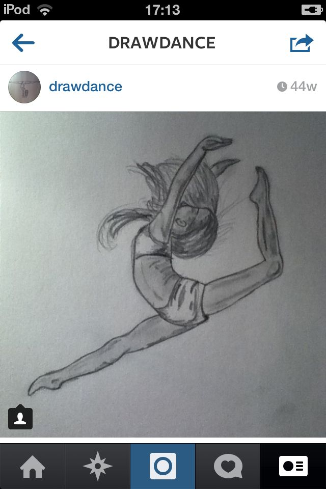 Drawing dancer