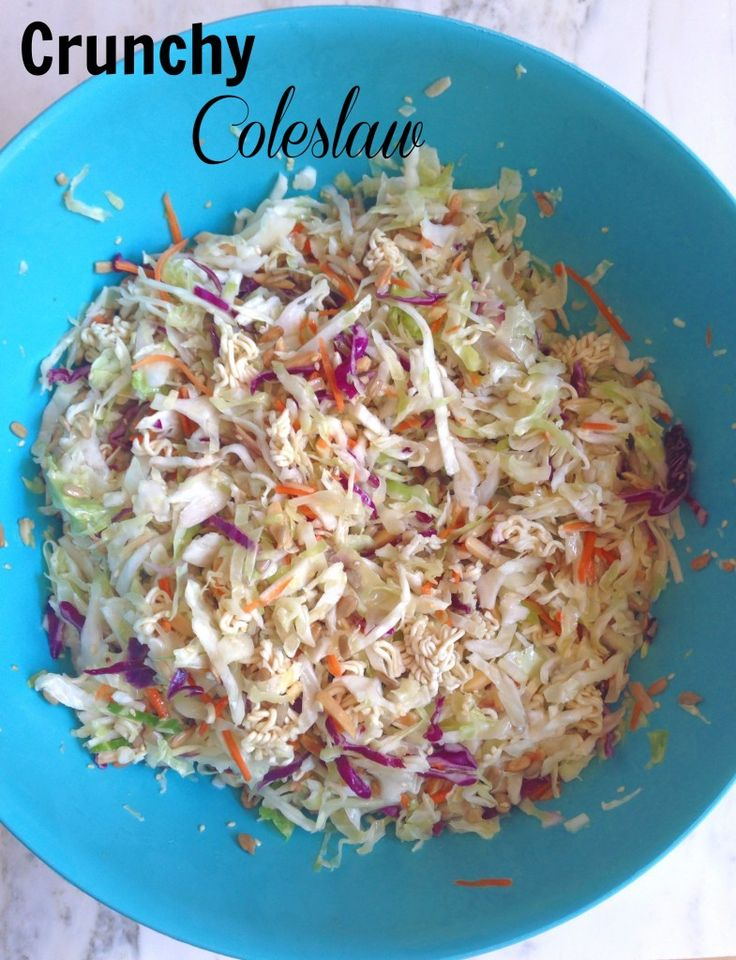 Crunchy Coleslaw Every Day Cheer Favorite Recipes