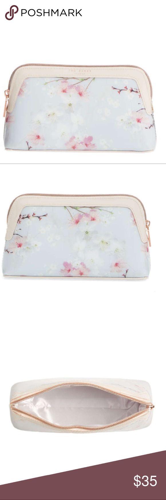 Ted Baker Cherrie Blossom Cosmetic Case Brand new Ted Baker London Bags Cosmetic Bags & Cases
