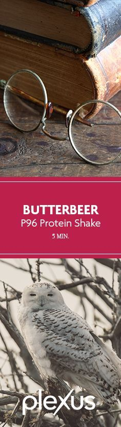 Grab your broomsticks and wands because we're bringing Platform 9 and 3/4 straight to your kitchen with this Plexus 96® Butterbeer Protein Shake. This stuff is straight out of Hogsmeade, and is the perfect magical treat for your morning fuel, afternoon pick-me-up, or midnight snack. Also, can we talk about the 15 grams of high quality whey protein you get from the P96 vanilla packet? SIGN US UP! #accioshake