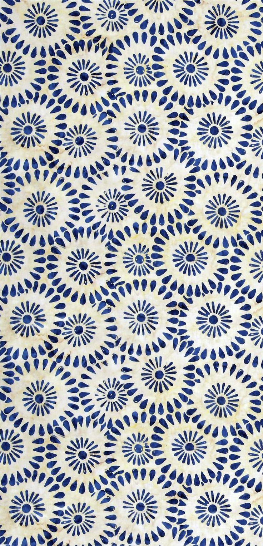 Diseño azul y blanco