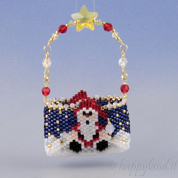 Christmas little bag by Happyland87 on Etsy