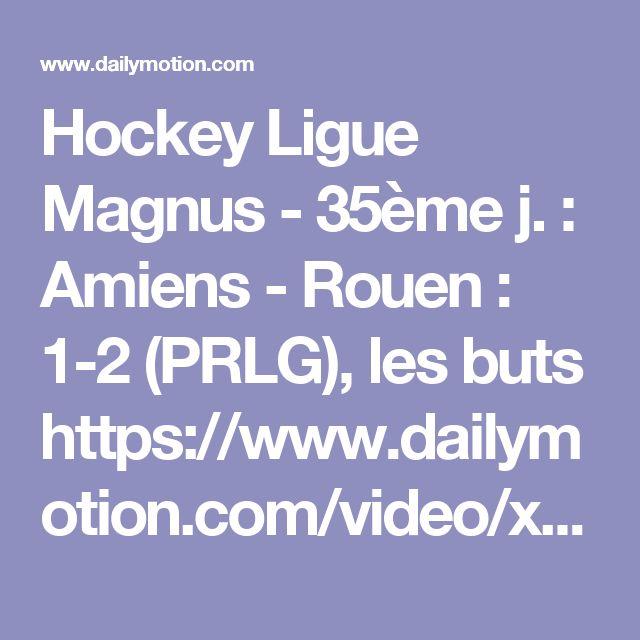Hockey Ligue Magnus - 35ème j. : Amiens - Rouen : 1-2 (PRLG), les buts  https://www.dailymotion.com/video/x596517_slm-35eme-j-amiens-rouen-1-2-prlg-les-buts_sport