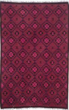 Vendimia Rugs Overdyed Klm563 Pink Rug Southwestern