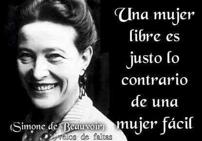 Simone de Beauvoir                                                                                                                                                                                 More