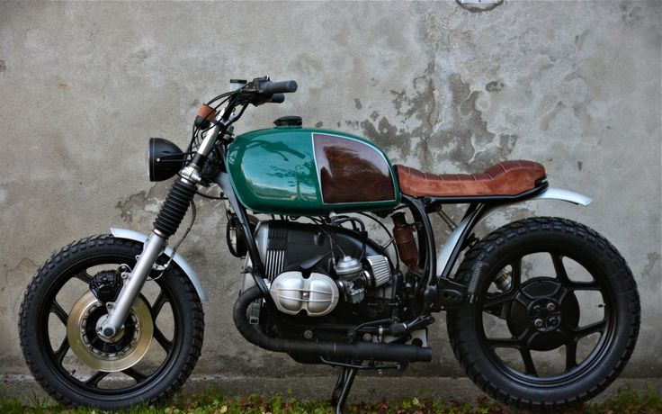BMW R80RT Street Tracker by French Monkeys #motorcycles #streettracker #motos | caferacerpasion.com