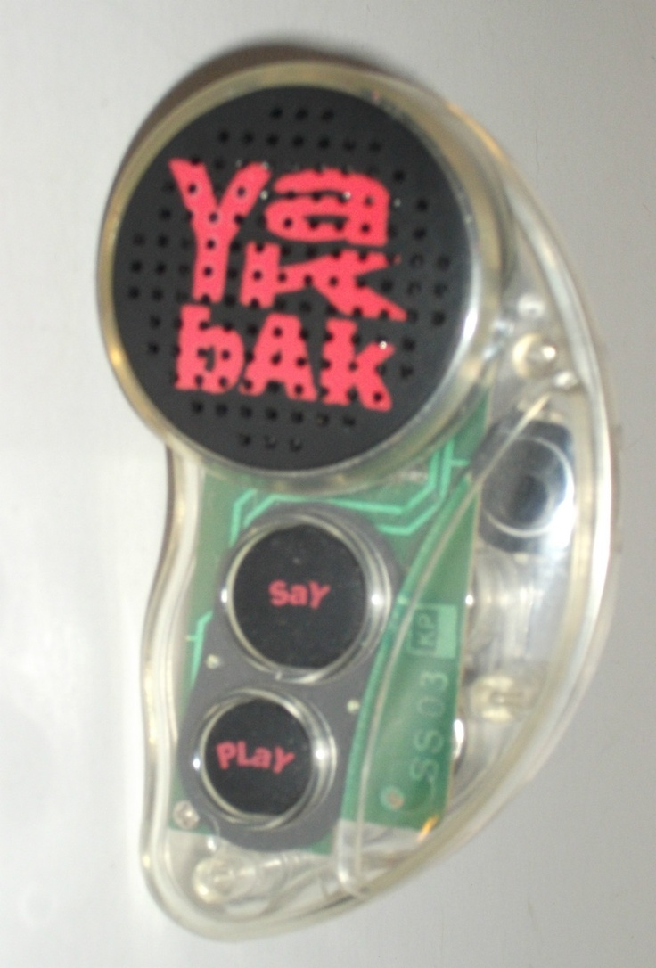 The Yak Bak. Thought this was the height of technology back in the day