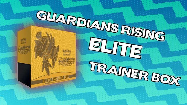 Opening A Pokemon Guardians Rising ELITE Trainer Box! #2
