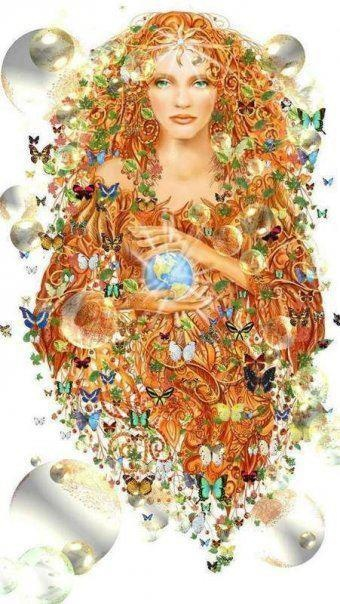 gaia.mother nature comes in many forms;]