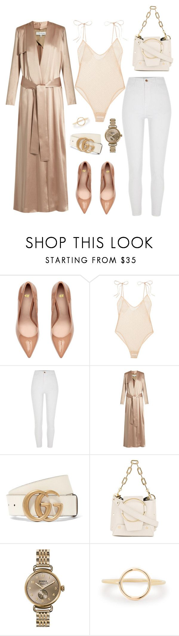 """Untitled #179"" by carolina11297 ❤ liked on Polyvore featuring Le Petit Trou, River Island, Galvan, Gucci, Yuzefi and Shinola"