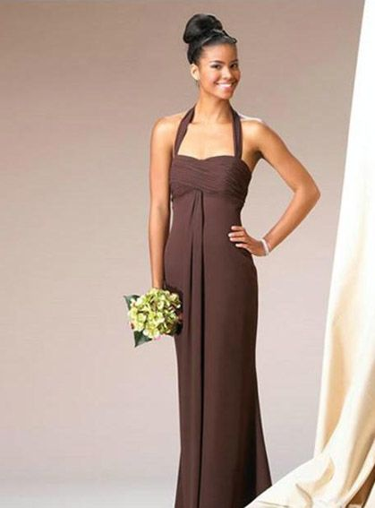 Floor-Length Chiffon Bridesmaid Dresses